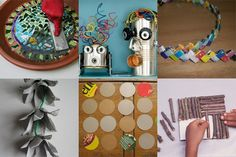 This site has craft projects that kids can make and games that can be made out of recycled materials. Utilizing recycled materials in the classroom does not have to be limited to art projects. Teachers can have students make games and toys out of the materials to express the concept of one man's trash is another man's treasure.