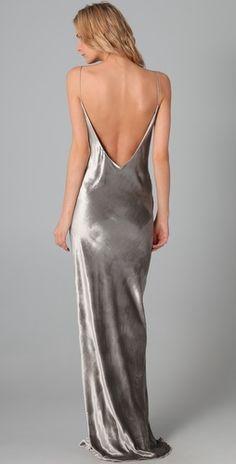t by alexander wang velvet dress
