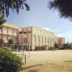 尼崎市立大庄小学校、設計者不詳、1933年、尼崎市
