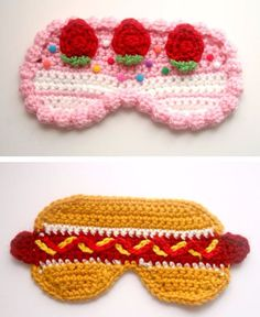Diy Crochet Gifts, Crochet Home Decor, Crochet Mask, Crochet Eyes, Crochet Gift Ideas For Women, Presents For Girls, Crochet Ornaments, Crafts To Make And Sell, Crochet For Beginners