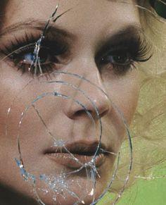 kinga razjak in mannequin thriller by miles aldridge for vogue italia march 2013