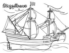 coloring pages mayflower pilgrims corn   Turkey head pattern. Use the printable outline for crafts ...