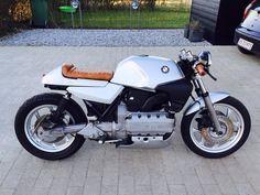 BMW # Café Wearethebikerstor … # Mode # Stil # Liebe # Kunst - New Sites Bmw Motorcycles For Sale, Cafe Racer Bikes, Cafe Racers, K100 Bmw, Bmw Old, Bmw White, Ninja Bike, Rifle, Bike Bmw