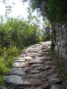 Inca Trail to Machu Picchu, The most important Inca road was the Camino Real, as it is known in Spanish, with a length of 5,200 km (3,230 mi). It began in Quito, Ecuador, passed through Cusco, and ended in what is now Tucumán, Argentina. The Camino Real traversed the mountain ranges of the Andes, with peak altitudes of more than 5,000 m. The coastal trail, with a length of 4,000 km (2,420 mi), ran parallel to the sea and was linked with the Camino Real by many smaller routes.