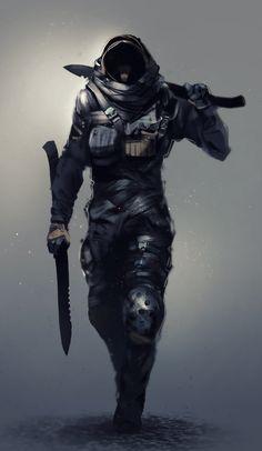 ArtStation - Soldier, Kevin Macio
