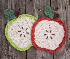 Presine a uncinetto a forma di mela – Spiegazioni.   Cucito Creativo   Bloglovin'