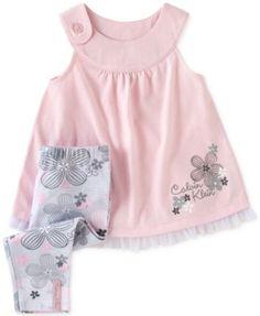 Calvin Klein Baby Girls' 2-Piece Tunic