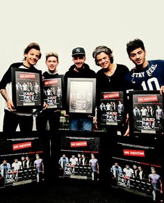 Proud of these 5 men. They're the best. #love1D