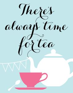 Always! I feel so proper while drinking tea. This would look so cute in an office or maybe a kitchen.