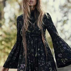 41ab61adfc4 Free People Tunic Dress Hippie Chic, Hippie Style, Boho Style, Hippie Gypsy,