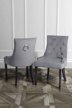 studded black fabric dark oak leg dining chairs pair dining room pinterest black fabric dining chairs and dark