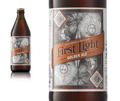 devils peak beer | Devil's Peak Beer Branding - Golden Ale | Beer logos | Pinterest