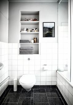 Classic and cool bathroom