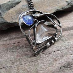 Srdce - křišťál, šperkové sklo