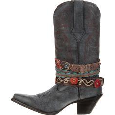 Crush by Durango Women's Accessorize Western Boot,