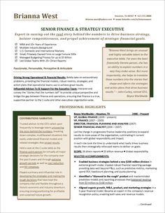 winning resumes executive resume tori award free templates examples senior inside
