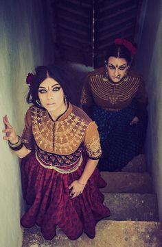 Models- Elizabeth and Colleena Shakti Styling/Garment- Dhruv Singh Photography- Devansh