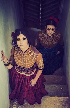 Models- Elizabeth and Colleena Shakti Styling/Garment- Dhruv Singh Photography- Devansh