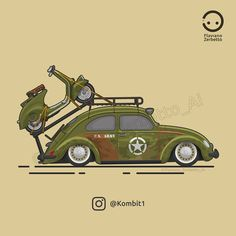 KombiT1: VW Beetle U.S. Army