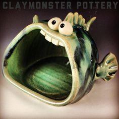 (1) Claymonster Pottery