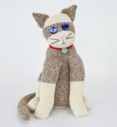 "Not your ordinary ""sock monkey"", but I just love this!"