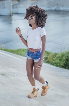 Astonishing Beach Hair Black Girl Picture Ideas With White Hair Dyed Also Hairstyle Inspiration Daily Dogsangcom