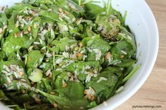 St. Louis Spinach Salad /joyfulscribblings #salad
