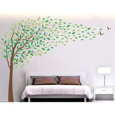 Pop Decors Flying in The Wind Wall Decal | AllModern