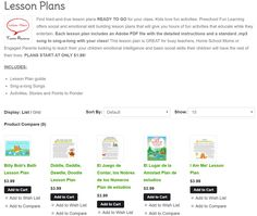 Preschool Fun Learning Lesson Plans Each Plan INCLUDES Adobe PDF File With