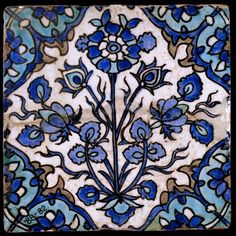 World Geography, Day Study in tiles: Persia, or century AD. Islamic Tiles, Islamic Art, Clay Tiles, Mosaic Tiles, Tiling, Antique Tiles, Antique Art, Art Ancien, Turkish Tiles
