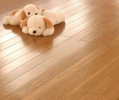 Eco-Logic Bamboo - Soft Toys on strand woven floor