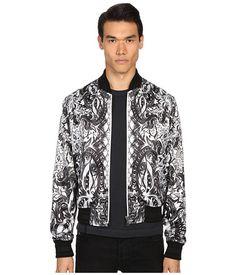 39fd34cac559e JUST CAVALLI Royal Batik Bomber Jacket. #justcavalli #cloth #coats &  outerwear