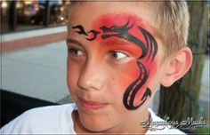 Face Painting Quick Boy Designs