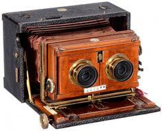 Challenge Stereoscopic Camera, c. 1905 : Lot 220