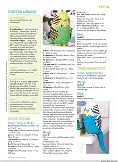 Knitting & Crochet from Woman's Weekly August 2017 - 轻描淡写的日志 - 网易博客 Baby Hats Knitting, Knitting For Kids, Loom Knitting, Free Knitting, Knitting Projects, Knitting Toys, Knitting Ideas, Animal Knitting Patterns, Crochet Dolls Free Patterns