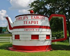World's Largest Teapot ~ Lincoln Highway - Chester, West Virginia
