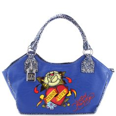 f6938013a1b Ed Hardy India East West Tote- Blue Don Ed Hardy, Michael Kors Outlet Sale