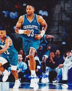 Alonzo Mourning ... Charlotte Hornets.