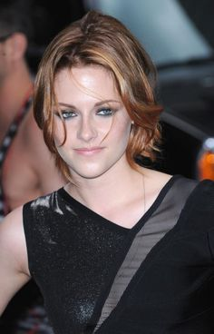 Short Red Kristen Stewart Hairstyle