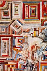 Paul Klee, Palace Partially Destroyed on ArtStack #paul-klee #art