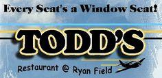 Fun Place to Fly - Todd's Restaurant @ Ryan Field, Tucson, AZ Aviation Blog, Cessna Aircraft, Light Sport Aircraft, Aircraft Sales, Aircraft Photos, Tucson, Hamburger, Restaurant, Fun