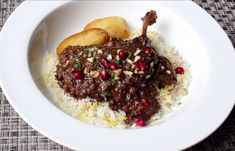If you are looking for something different to serve on Christmas day, a little extoic yet still looking festive then you should really take a look at this Persian dish. Fesenjan is Duck Stewed with Pomegranate and Walnuts, a fairly easy to cook recipe but does call for some unusual items that you might have to …