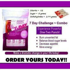 We have a 3 and 7 day trial pack available!  Like my facebook page and message me for a special deal! Www.facebook.com/plexuswithnichole Www.130318.myplexusproducts.com