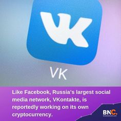 Report: Russia's 'VK' social media platform considering its own crypto. Cryptocurrency Trading, Cryptocurrency News, Vk Social Media, Working On It, Drink Sleeves, Brave, Russia, Platform, Marketing