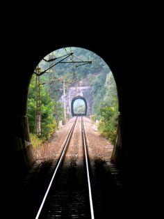 Railroad Tracks, Train, Strollers, Train Tracks