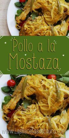 Pollo a la Mostaza - Las Recetas de Laura