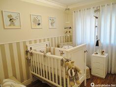Cuartos de bebés en colores neutros