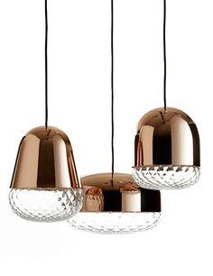 Glass pendant #lamp BALLOTON by M.M. Lampadari   #design Matteo Zorzenoni
