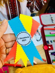 Ecuson tricolor pentru 1 Decembrie - Materiale didactice de 10(zece)