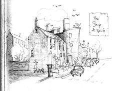 Development work for 'Grandad's Island' by Benji Davies